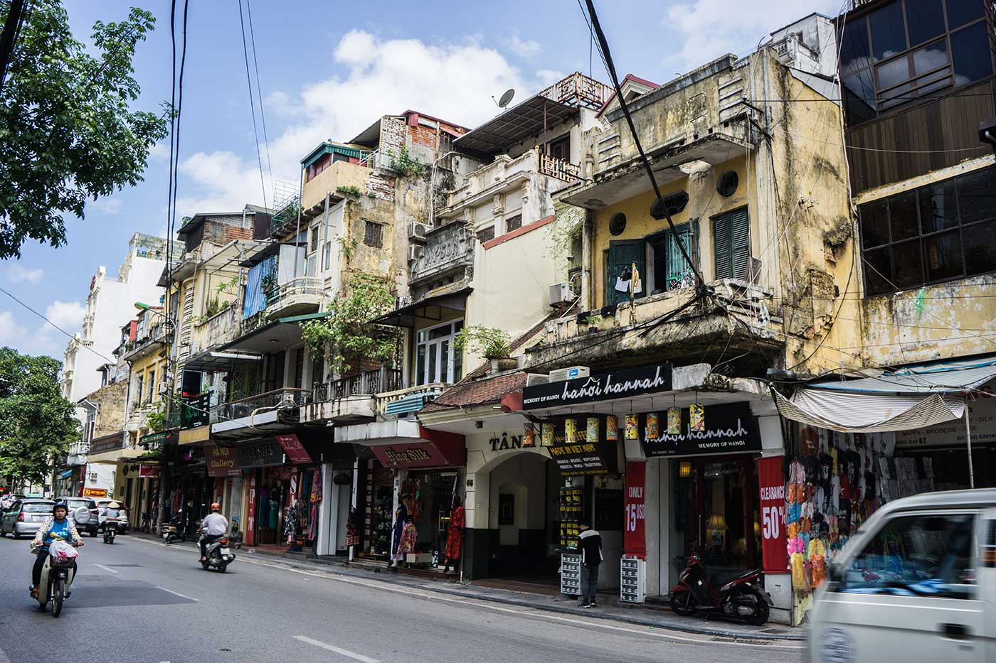 French inspired architecture, Hanoi