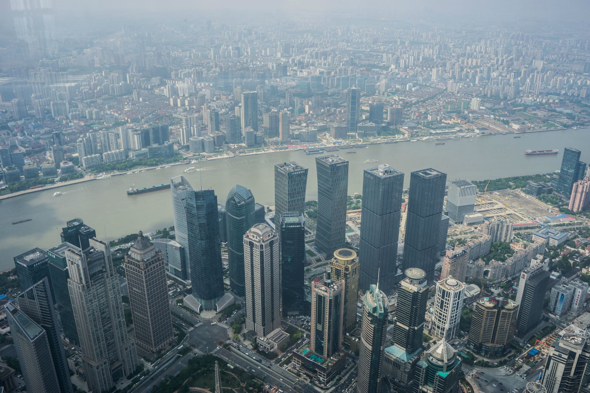 View from Shanghai Tower